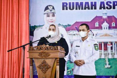 Bupati Bengkalis Kasmarni Launching Wisma Daerah Sebagai Rumah Aspirasi