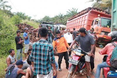 Jalan Gajah Mada Hancur, Wabup Bengkalis Ajak Pengusaha Pelihara Jalan