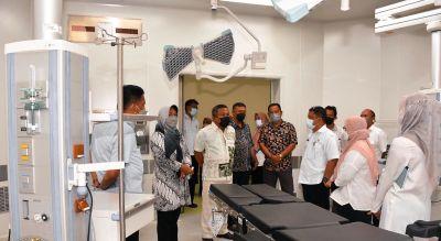 Komisi IV Pantau Ketersediaan Obat-Obatan dan Oksigen di RSUD Mandau