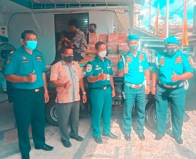 KSOP Kelas II Tanjung Buton  Berikan Bantuan Sembako kepada Pasien Jalani Isoman