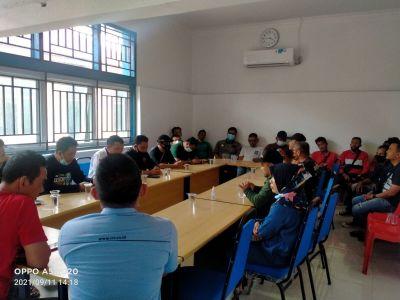 PWI Bengkalis Adakan Rapat, Bambang Gusfryadi ditunjuk Ketua Panpel Konfercab