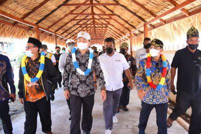 Wabup Bengkalis Dampingi Kunker Komisi V DPR RI ke Rupat Utara